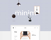 Minim E-commerce Website