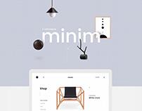 Minim E-commerce Website