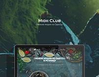 Midii Club Landing