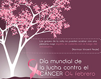 Día mundial de lucha contra el cancer