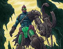 MOTU Featuring: Trapjaw, Stratos, Mer-Man and He-Man