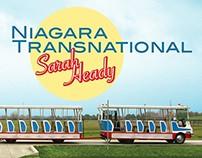 Cover Design, Niagara Transnational by Sarah Heady