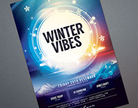 Winter Vibes Flyer