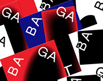 BAGATELA Theatre / branding identity