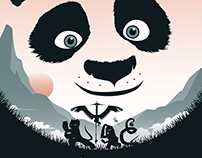 KUNG FU PANDA Poster Art