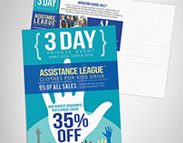 Assistance League - Post Card Design
