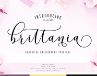 New! Brittania | 5 Font | 35% Off