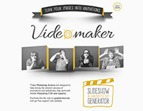 Video Maker Photoshop Actions