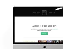 Comedy Underground SXSW Showcase + Branding + Website