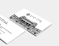 Hullett House | Business Card Design
