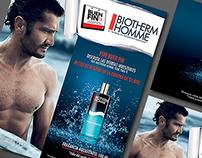 BIOTHERM HOMME / Publicidad POP - L'Oréal Luxe
