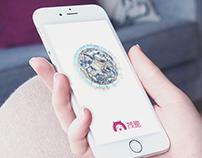 艺术博客类APP茂趣界面设计 art app UI design