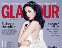 Krysten Ritter for Glamour Magazine by Rachell Smith