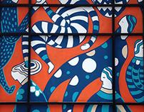 Elixr Coffee Mural 2015