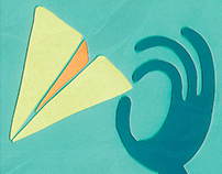 INFOGRAPHIC: how to make a paper airplane