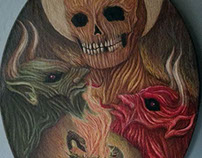 Memento Mori  - Oil Paint