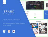 Brand - Creative Agency Web Template