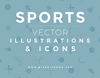 Free Sports Vector Illustrations / Icons