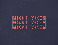 The Pink Dust - Night Vices [Official Lyric Video]