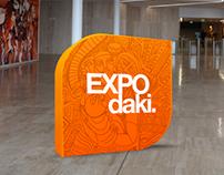 EXPO DAQUI - BCI espaço multimedia - brand