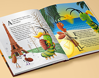The Caterpillar that Became Butterfly - Children book