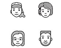 Icon portraits