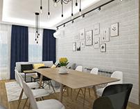 Varna City Park Apartment Interior Design