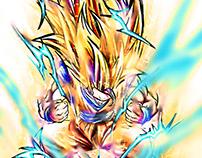 Son Goku SSJ3 - FanArt