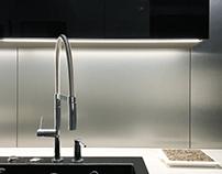 Black&White Kitchen design - Gdynia Orłowo