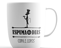 Espuma dos Dias - Coffee bar logo design