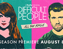 Hulu | Difficult People