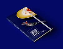 """Maquetación del libro """"Barcelona foodie feast """""""