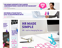 BT HR Internal comms campaign
