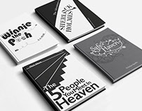 Book Cover Designs || Typography