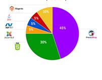 Infographie: classement mensuel des sites web