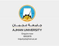 Ajman University corporate Video
