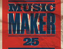 Music Maker 25 Poster