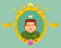 "A game for mobile ""The Dictator"""