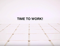"""""""The Grid Office"""" Stop Motion Video"""