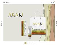 Akari / Branding, Logo design, Web site