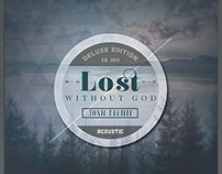 Lost without God: Cd Cover Template