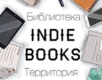"Cover for project ""Indie Books"""