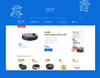 Редизайн Интернет-магазина iPlus Robotics Inc.