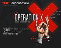 TEDxJendoubaville branding