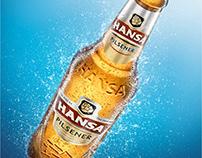 Hansa Pilsener Brand Refresh