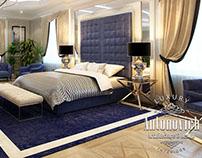 Master bedroom from Antonovich Design