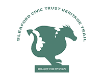 SLEAFORD CIVIC TRUST HERITAGE TRAIL Stickers