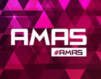 Look and feel Premios AMAS nominados y ganadores UM