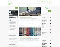 Blog Dual Sidebars - Forum WordPress Theme