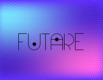 Futare - minimalistic futuristic typeface